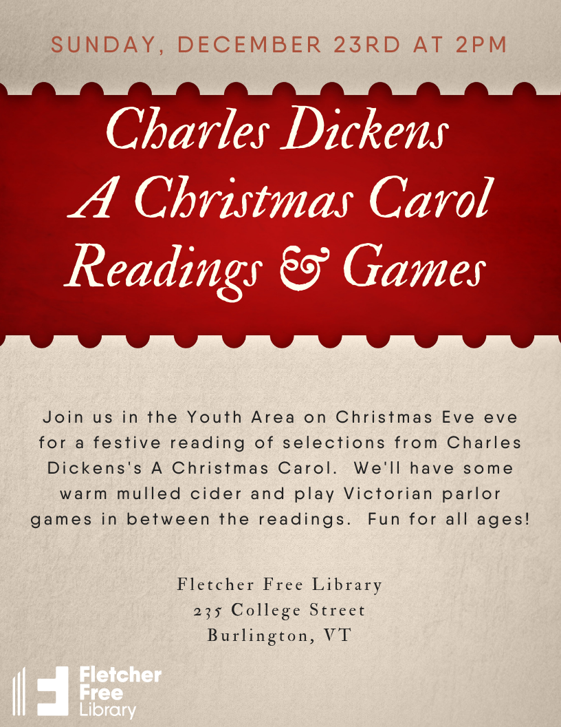Christmas Readings.Readings From Charles Dickens S A Christmas Carol Fletcher