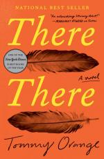 "cover of ""there there"" book by tommy orange"